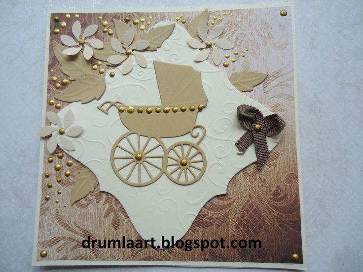 kartka dla dziecka  drumlaart.blogspot.com