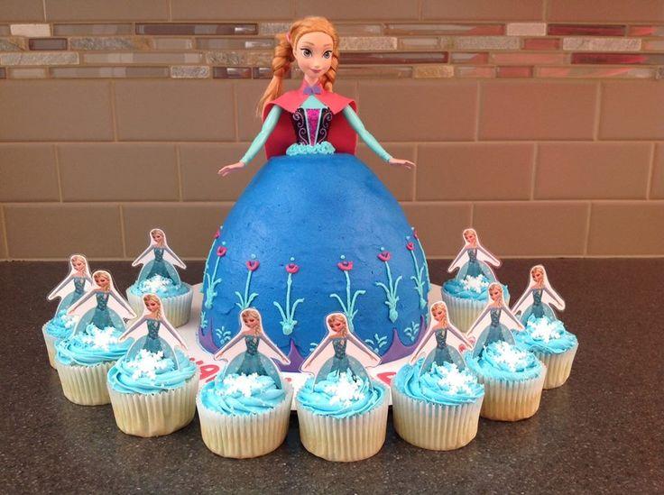 gteau reine des neiges - Barbie La Reine Des Neiges