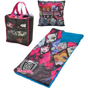 Be The Envy Of The Party With This Colorful Monster High Slumber Tote Set.  This Tote Set Includes All The Necessities For The Perfect Sleepover    Slumber ...