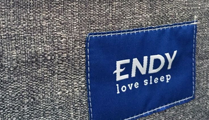 Endy Mattress Love Sleep Tag