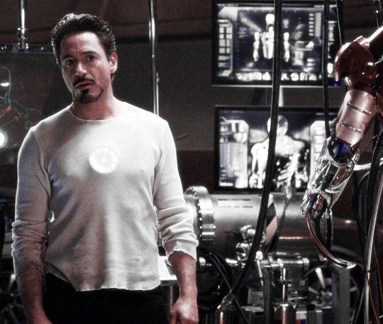 "Tony Stark,. ""Iron Man"""