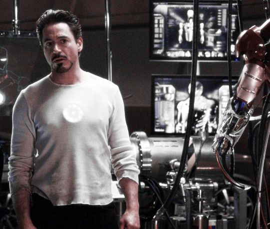 "Tony Stark,. ""Iron Man"""