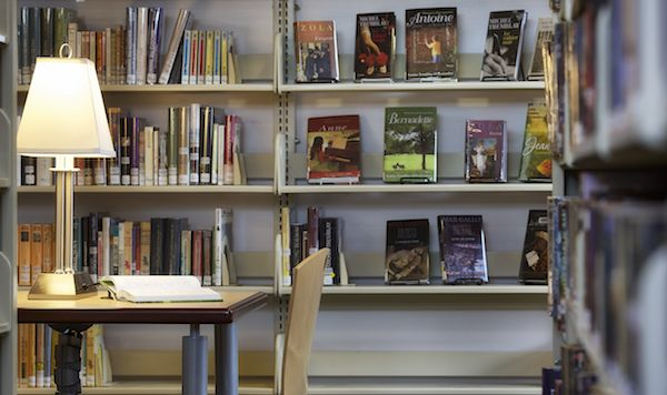 One of many reading nooks at the Salt Spring Island Public Library. Photo by John Cameron. www.johncameron.ca/