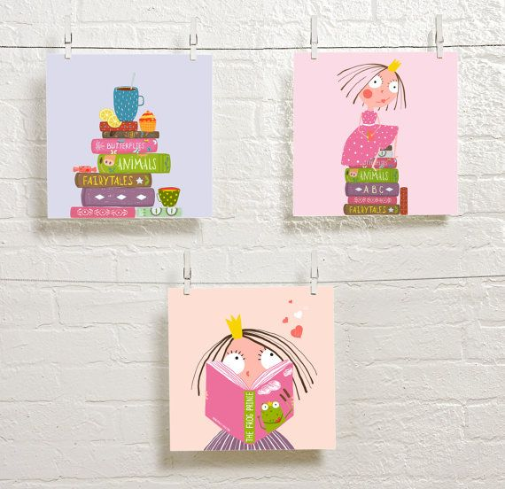 These colorful reading posters come with three unique images to inspire reading. Decorate your home or give as a gift to welcome a new baby or to inspire a little girl. WHAT IS A PRINTABLE? ♡ A printable is an instant download PDF thats delivered to you in minutes. ♡ This is a set of three printables. Each one measures 8x10 inches. ♡ The print size can be enlarged or reduced without losing image quality. ♡ A printable is a digital file only. No physical item will be shipped. WHY SHOULD I BUY…