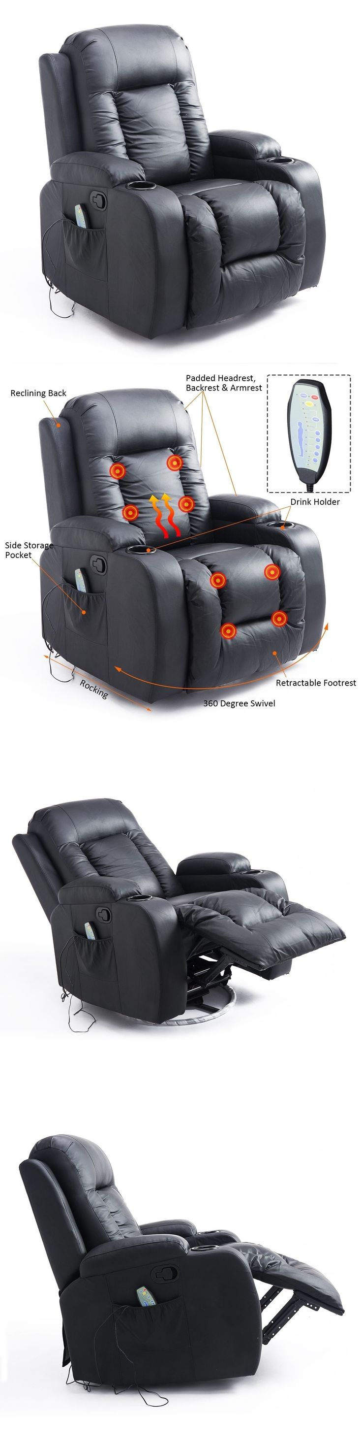 576 best Electric Massage Chairs images on Pinterest