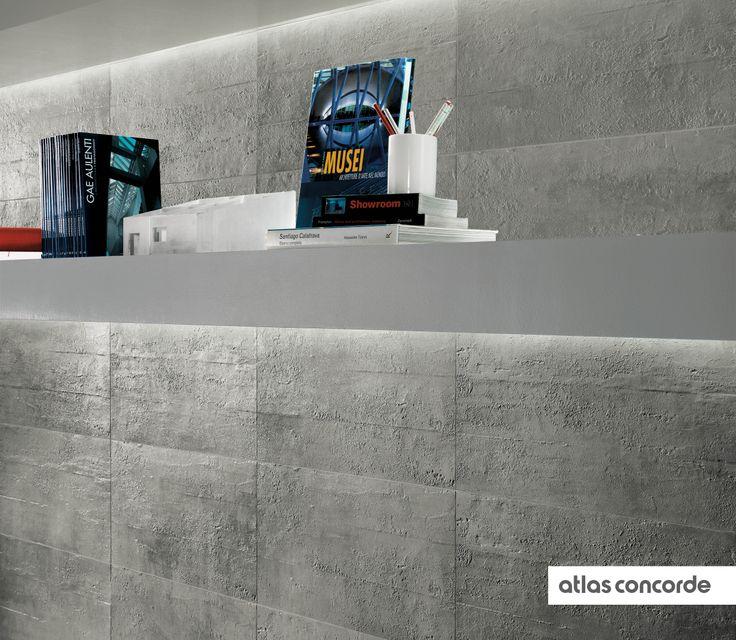 #EVOLVE silver | #Textured | #AtlasConcorde | #Tiles | #Ceramic | #PorcelainTiles