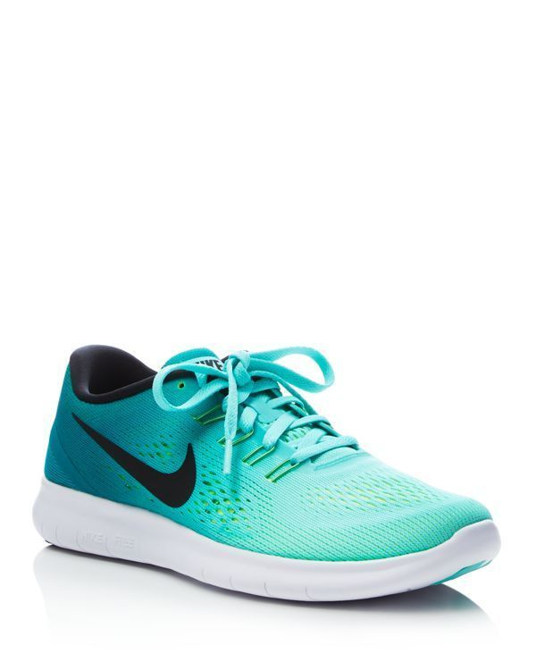 pretty nice 009fc 8a227 Nike Womens Free Run Natural Lace Up Sneakers