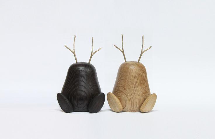 smoke oak/ oak wood toy design by HALOMOON