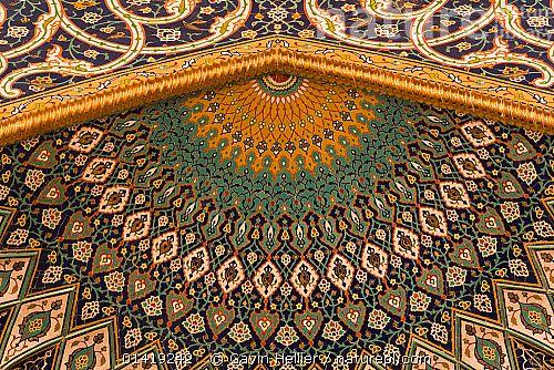 Продуманная деталь стены внутри султана Кабуса Hall, Аль-Ghubrah или Большая мечеть, Маскат, Оман 2007 Аравией, искусство, Азии, ЗДАНИЯ, поделки, украшения, детали, интерьер, Ближний Восток, мечетях, Мускат, витиеватые, путешествия, СТЕНЫ 1