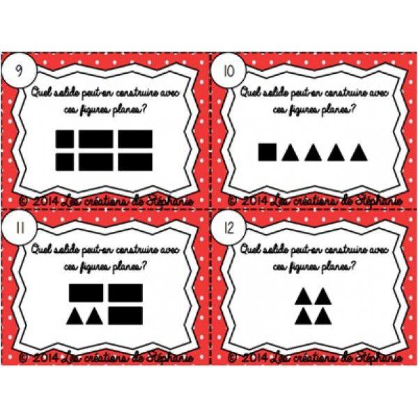 Les cartes à tâches de géométrie