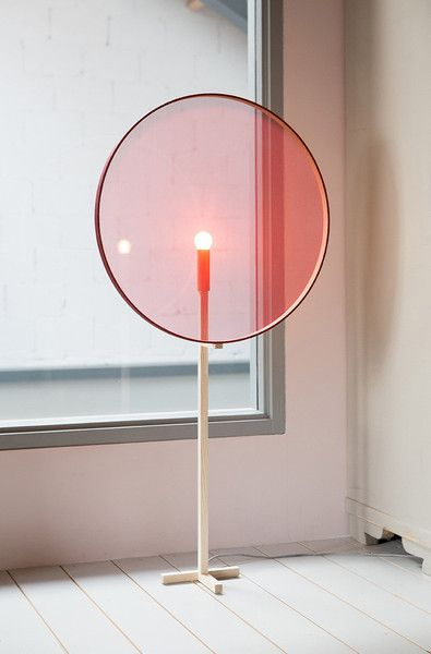 Beautiful idea for a soft filtered light #furniturehunters | Resting Light