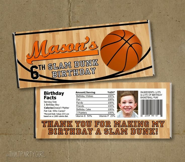 1000+ Images About Basketball Birthday On Pinterest