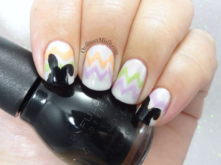 52 week nail art challenge - Week 13: Easter