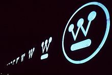Westinghouse logo created by Paul Rand in 1960