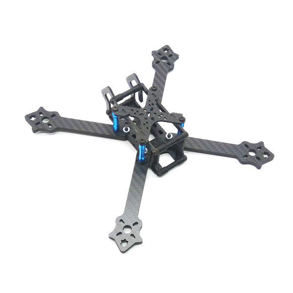 F210TX 210mm Distancia entre ejes 3 mm Brazo 3K Kit de armazón de fibra de carbono para RC Drone FPV Carreras 82g