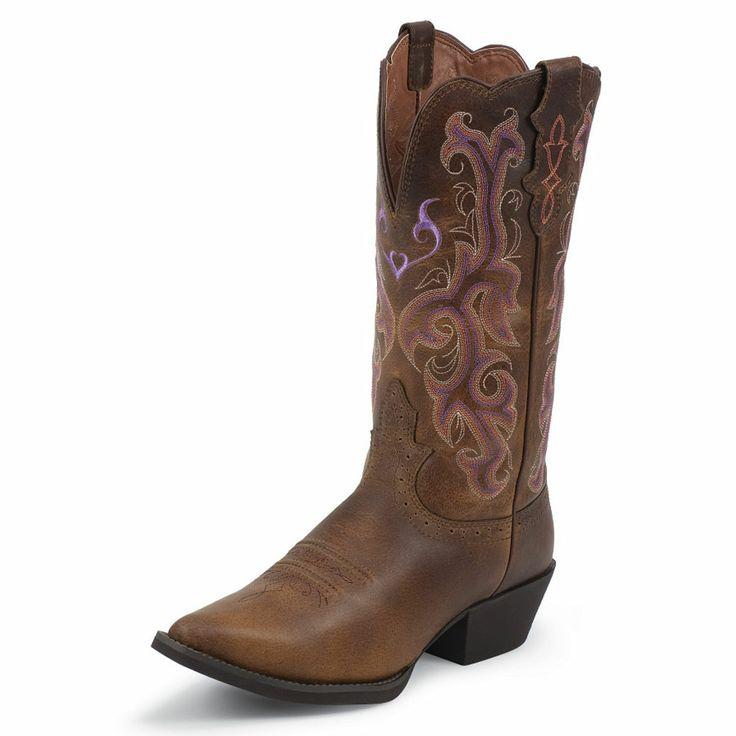 Justin Womens L2559 L2561 L2562 L2565 Western Boots In