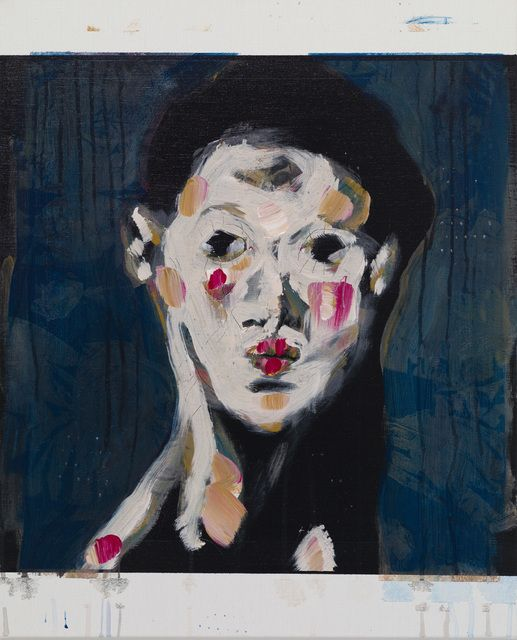 Kaoru arima  Eve, 2015 Acrylic on canvas 24 3/5 × 20 9/10 in 62.5 × 53 cm