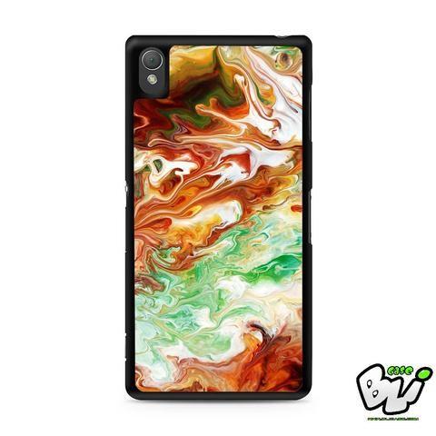 Abstract Watercolor Sony Experia Z3,Z4,Z5,C3,C4,E4,M4,T3 Case,Sony Z3,Z4,Z5 MINI Compact Case