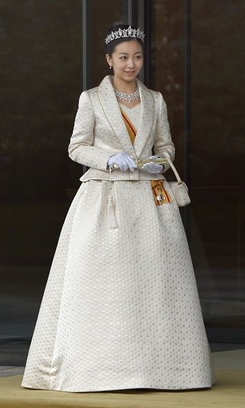 Japan's royals gather for regal New Year's greeting