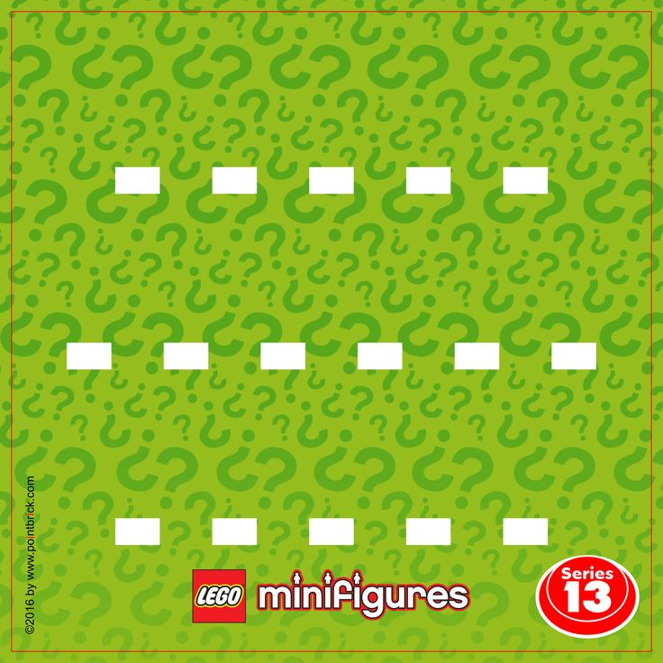 LEGO Minifigures 71007 Serie 12 - Display Frame Plain Background 230mm - Clicca sull'immagine per scaricarla gratuitamente!