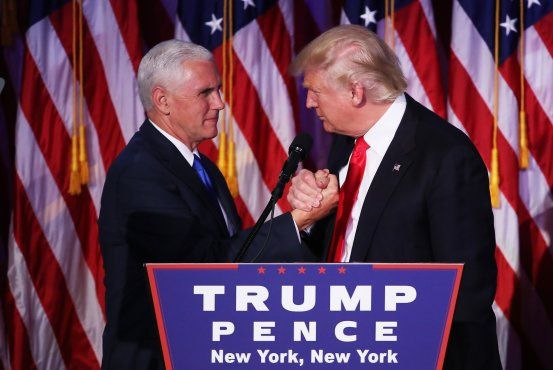 Donald Trump Shuffles Transition Team, Making Mike Pence Chairman New Jersey Gov. Chris Christie downgraded to vice chairman