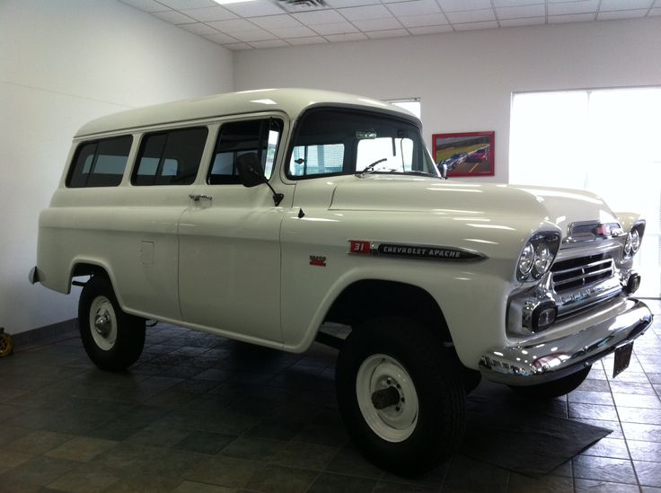 1959 Napco Chevy Apache For Sale At Mosing Motorcars Chevy