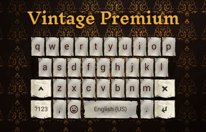 Vintage Theme: Take a trip into the glorious, quiet and full of good taste past. Old school android theme for your device. #android #theme #design #wallpaper #keyboard #technology #gadgets #design #redrawkeyboard #vintage #oldschool #visuallyattractive