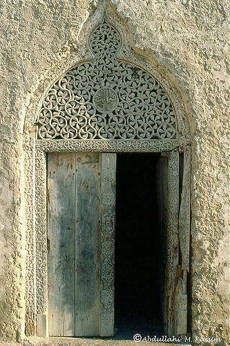 well known door in Shangani, Mogadishu. Somalia and the photographer is Abdullahi Kassim