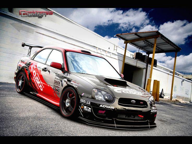 Awesome Motor Roar: Tuning Scene WRX STi photo #Subaru #tuning