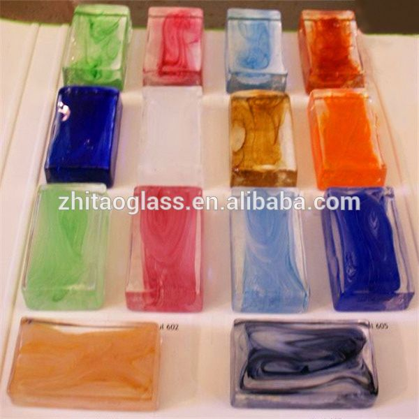 Source Colored solid glass block bricks prices on m.alibaba.com
