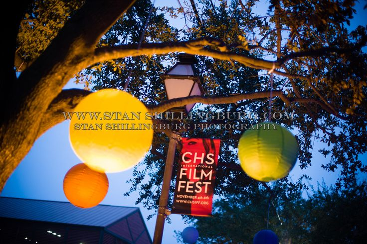 Love this picture from the Charleston International Film Festival!