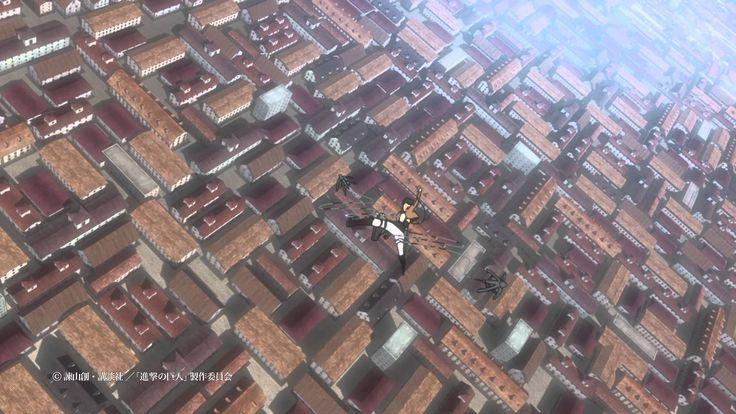 大ヒットテレビアニメ「進撃の巨人」をスクリーンで!映画『劇場版「進撃の巨人」前編~紅蓮の弓矢~』予告編