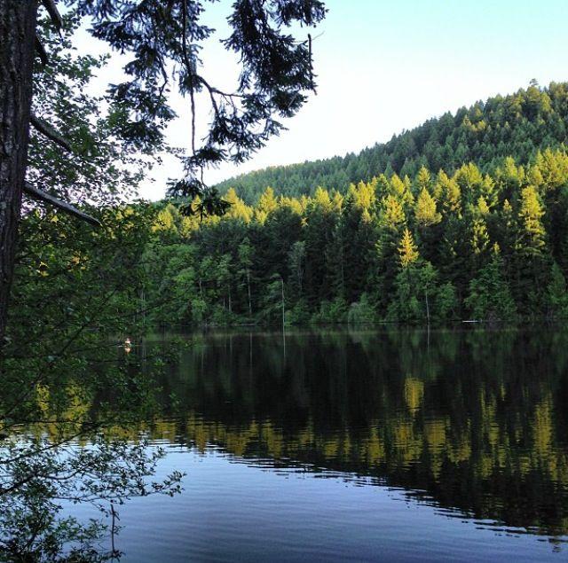 Durrance Lake. Victoria BC