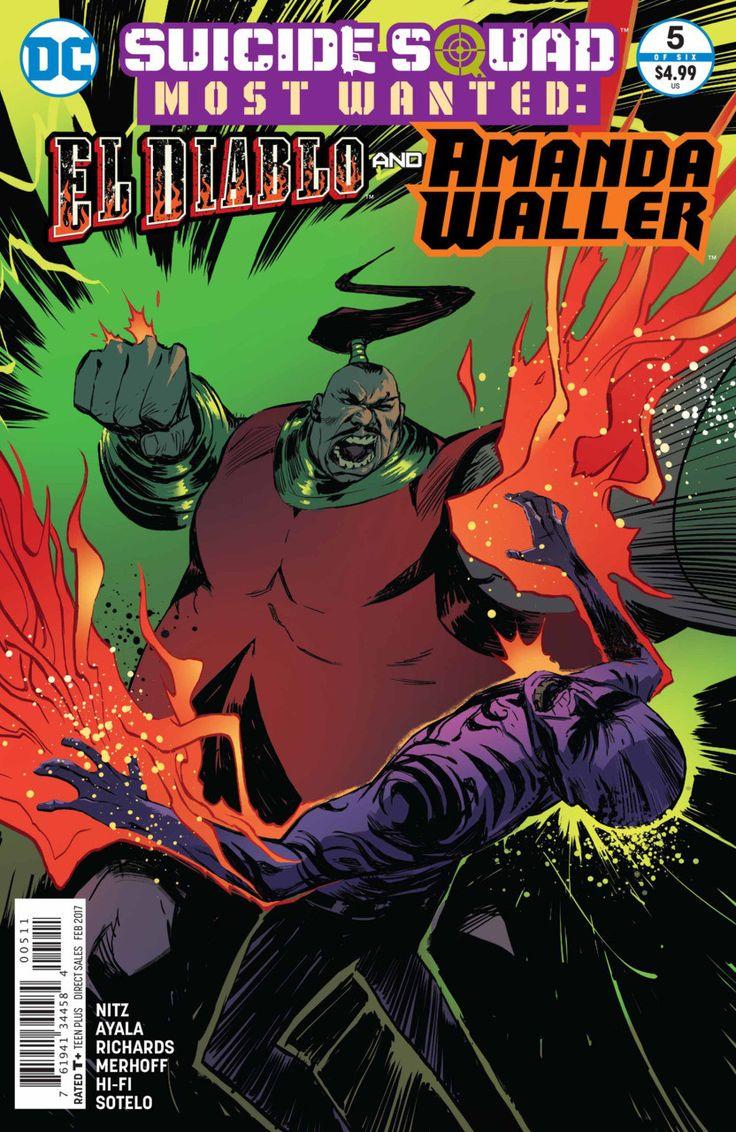 DC Comics - Suicide Squad Most Wanted: El Diablo and Amanda Waller #5
