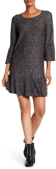 Max Studio Marled Sweater Dress
