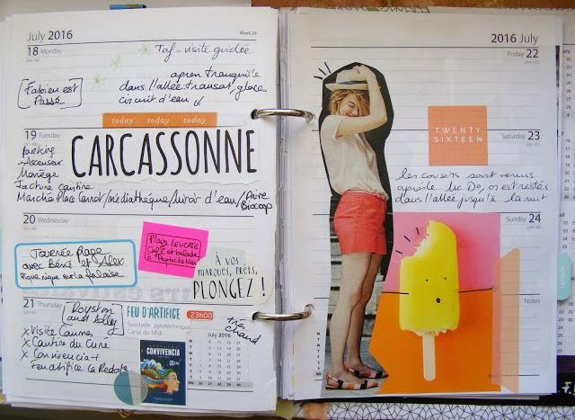 InSpiRaTions ScraP daily planner 2016 elisa p.