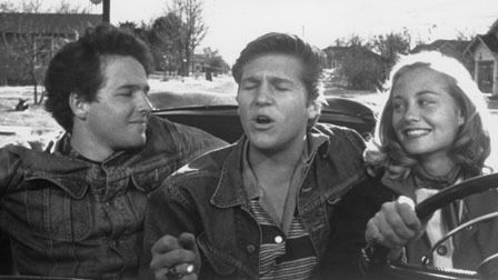 The Last Picture Show 1971. Timothy Bottoms, Jeff Bridges and Cybill Shepherd