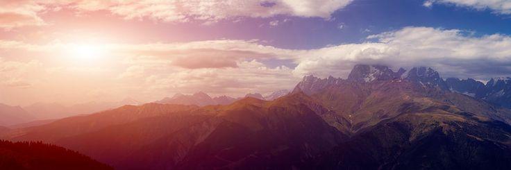 Photo Mountains of Svaneti by Roland Shainidze on 500px