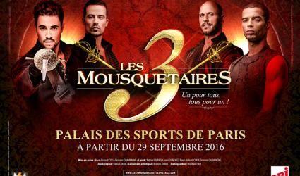 La billetterie est ouverte pour le spectacle musical, Les 3 Mousquetaires. Adapté de l'oeuvre d'Alexandre Dumas, le spectacle se présente comme un show incroyable à l'image de Robin des Bois, joué devant plus de 800.000 spectateurs ravis et heureux. La...
