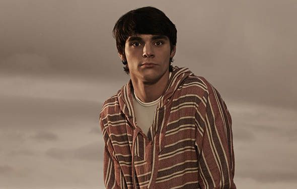 """RJ Mitte as Walter White Jr. """"Finn"""" - high school student / son of Walter & Skyler / Holly's brother/ has cerebral palsy"""