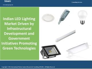 Indian LED Lighting Market Growing at a CAGR of Around 52% During Past Few Years  Factors such as growing environmental concerns, infrastructural development, augmented growth of the automobile industry, cost-friendly, higher durability and government's support for promoting investments in LED lighting systems are currently encouraging the growth of the Indian LED lighting market. http://www.imarcgroup.com/indian-led-lighting-market-report