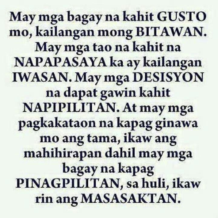 Broken Family Tagalog Quotes: Move On Tagalog Quotes