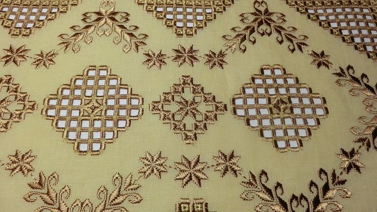 Hardanger embroidery 3