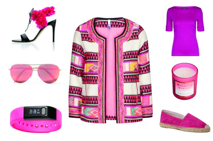 Bliv trendy med sæsonens hotte pink