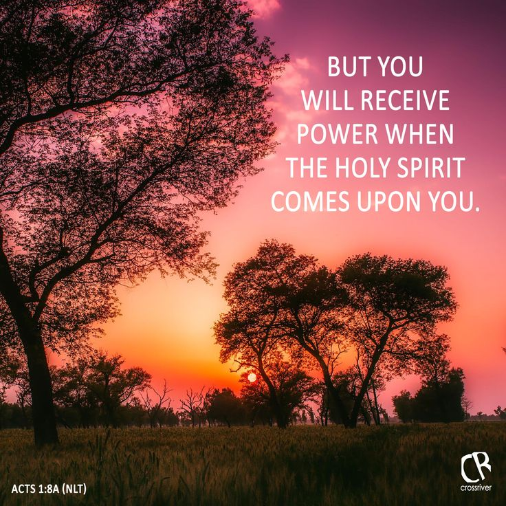 But you will receive power when the Holy Spirit comes upon you. - Acts 1:8 #NLT #Bible