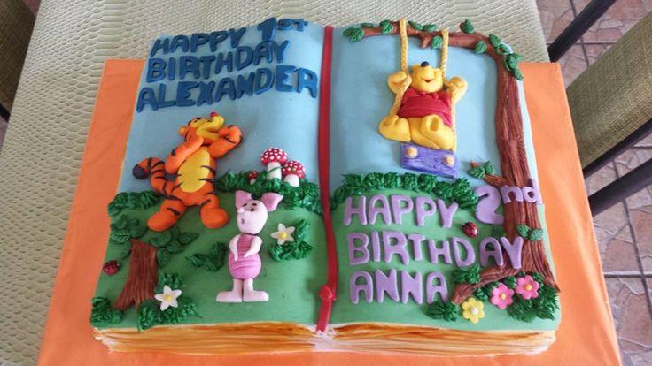 Winnie Pooh torta