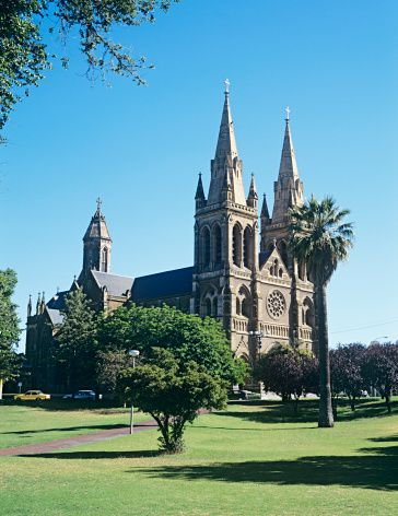 St Peters Cathedral North Adelaide South Australia • Adelaide city highlight and sight • Adelaide's icons