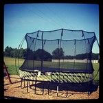 O77 Medium Oval Trampoline - Outdoor Trampolines & Play Equipment   Springfree ™ Trampoline USA