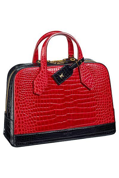 Louis Vuitton - Women's Accessories - 2015 Spring-Summer #red #beautyintheBAG #bags #handbags