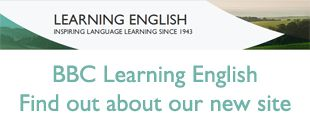 BBC Learning English's new website